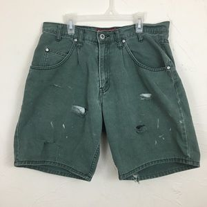 Destroyed Levi's SilverTab Loose Shorts 32